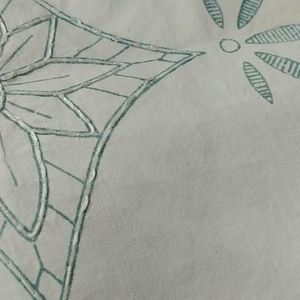 4/$15 - unfinished embroidered handkerchief